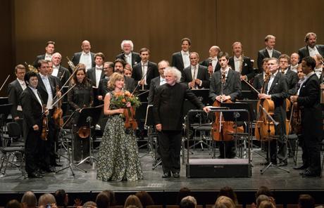 Osterfestspiele Baden-Baden 2017 – Sir Simon Rattle e Lisa Batiashvili