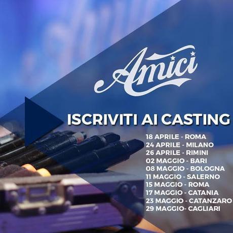 Date e città dei casting di Amici di Maria De Filippi 2017-2018: il calendario completo ed aggiornato.