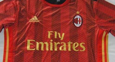 Milan, terza maglia 2017/2018 che ricorda la Cina?