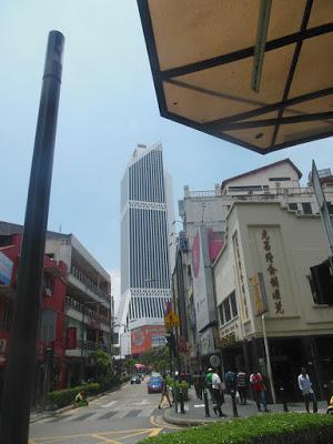 Arrivo a Kuala Lumpur