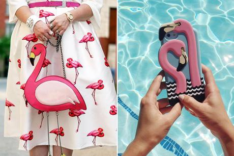 Flamingo Mania trend primavera 2017 accessori