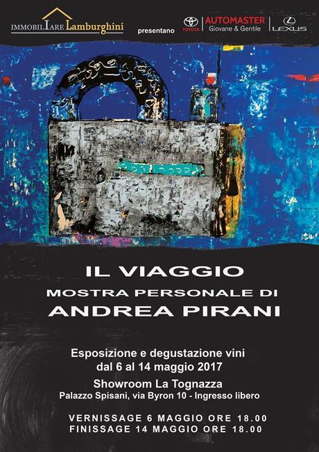 Arte & Vino a Ferrara con Andrea Pirani dal 6 al 14 maggio.