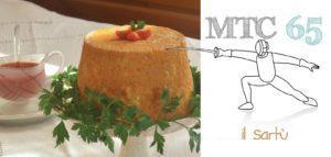Sartù di Riso al Pomodoro con Melanzane, Provola e Polpettine di Salsiccia