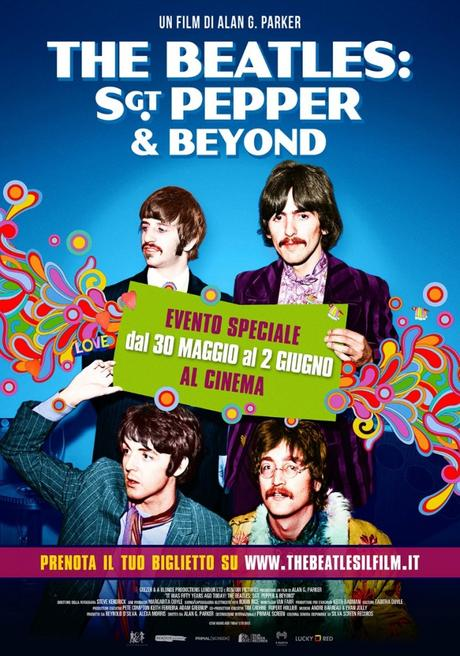 THE BEATLES: SGT. PEPPER & BEYOND, dal 30 Maggio al 2 Giugno al cinema. Il trailer