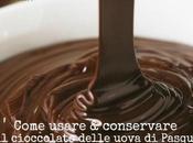Come usare conservare cioccolato delle uova Pasqua
