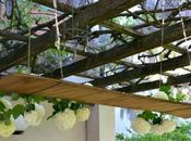 #fioridivenerdì decorazione romantica tavola all'aperto