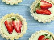 Crostatine vegan alle fragole