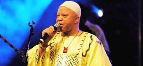 Salif Keita, il grande e famoso musicista del Mali.