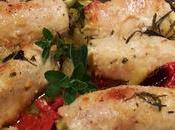 Involtini pollo ripieni zucchine