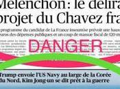 negazionista, Stampa prende Mélenchon