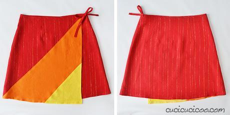 prezzo competitivo 65a0b 8f56c Cartamodello: Ruby Wrap Skirt gonna a portafoglio - Paperblog