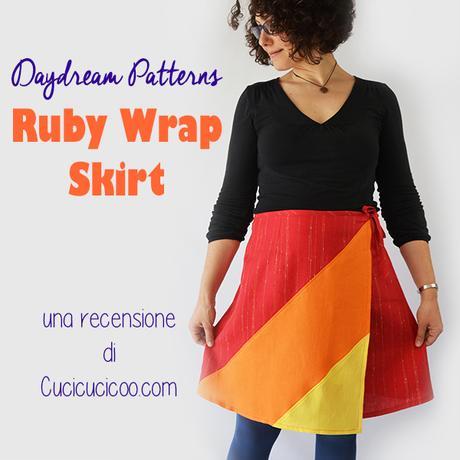 prezzo competitivo b620e bd839 Cartamodello: Ruby Wrap Skirt gonna a portafoglio - Paperblog