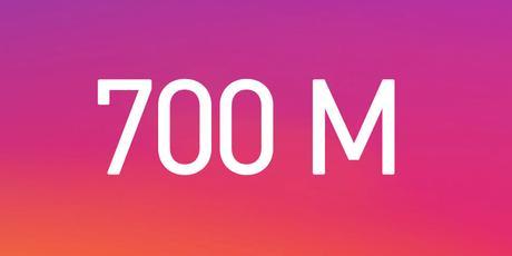 instagram 700 milioni di utenti