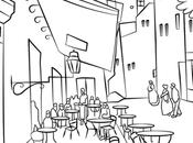 Coloring Pages Aprile Tema: Gogh postumi vacanza Amsterdam)