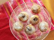 Muffin gocce cioccolato cuore morbido, confort food colazione