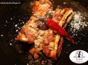Involtini melanzana merluzzo sugo d'olive taggiasche