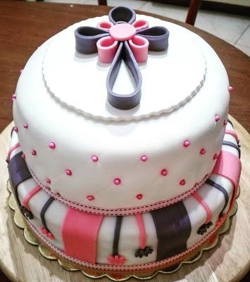 Torta Effetto Trapunta Tutorial.Torta Per Cresima Paperblog
