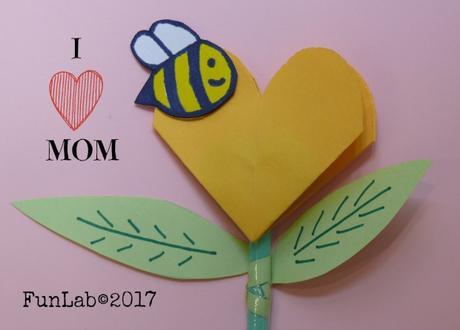 I love Mom: lavoretto Festa Della Mamma
