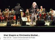 Shel Shapiro l'Orchestra Multietnica Arezzo concerto alla Dogaia