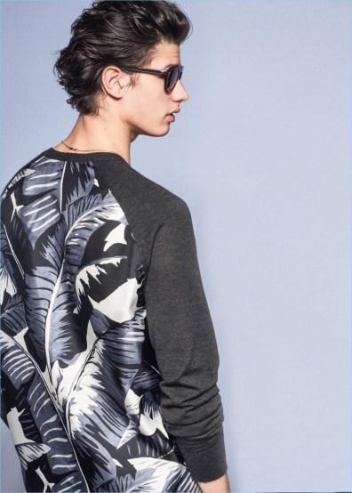 Dolce-Gabbana-2017-primavera-estate-mens-Raccolta-Lookbook-foglie di palma-004