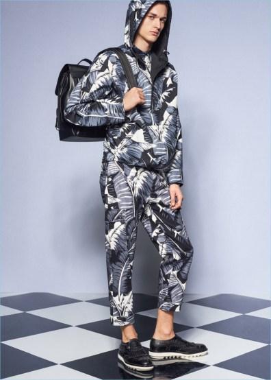 Dolce-Gabbana-2017-primavera-estate-mens-Raccolta-Lookbook-foglie di palma-003
