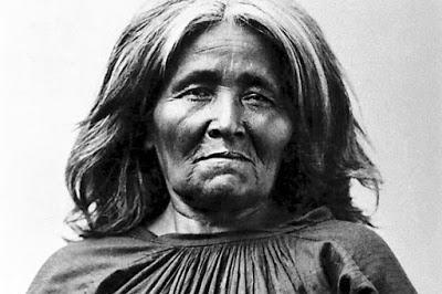 Una donna Apache di nome Dilchthe