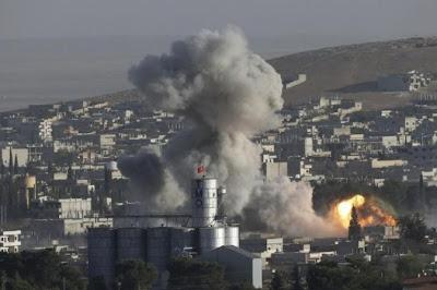 Attacchi aerei a guida statunitense hanno ucciso 23 persone in Siria