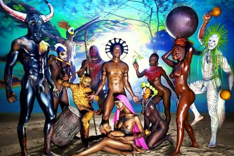 David LaChapelle, Nativity, 2012 © David LaChapelle