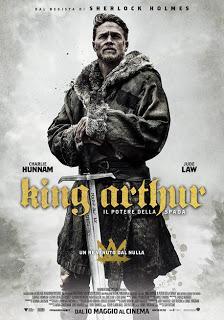 King Arthur - Il potere della spada (Guy Ritchie, USA, 2017, 136')