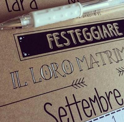 Trend Matrimoni: La Calligrafia