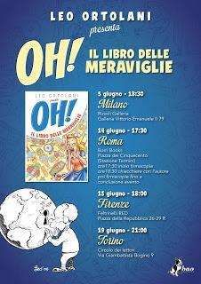 Anteprima [Graphic Novel]: OH! Il libro delle meraviglie di Leo Ortolani