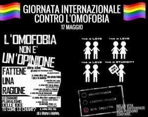 Oggi è la Giornata Internazionale contro l'Omofobia