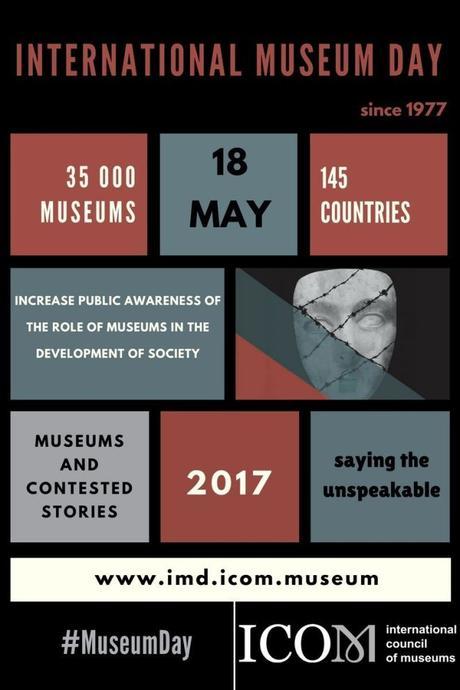 #InternationalMuseumDay 2017 Twitter musei