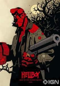 Hellboy: Rise of The Blood Queen, ecco il poster disegnato da Mike Mignola