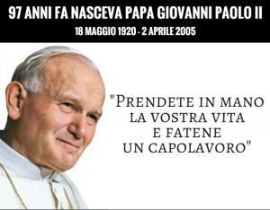 97 anni fa nasceva Papa Giovanni Paolo II