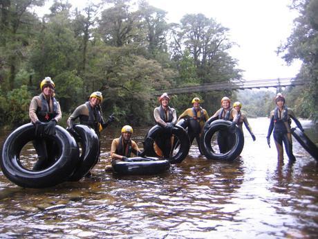 Fare black water rafting in Nuova Zelanda: un'avventura!