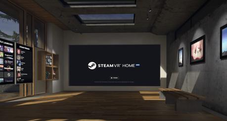 Valve si aggiorna: ecco SteamVR Home