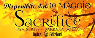 Segnalazione - SACRIFICE di Barbara Bolzan
