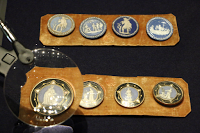 """Museo del Tessuto: Inaugurata la mostra """"Il Capriccio e la Ragione. Eleganza del Settecento europeo"""""""