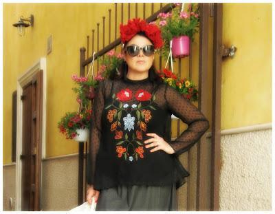 Zaful Outfit #FridaKahlo