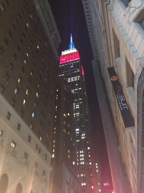 Empire state Building illuminato