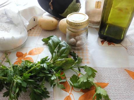 Crocchette di melanzane e patate al forno