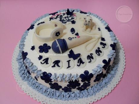 Torta di Violetta per compleanno