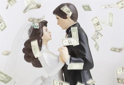C'è crisi! Gli sposi chiedono prestiti per sposarsi...