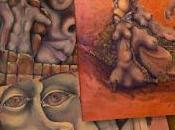 "Eleazar joel sanchez artista, parte movimento ""illuminati creativi"" presenta opere originali."