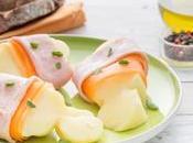 Scamorza forno prosciutto cotto carote