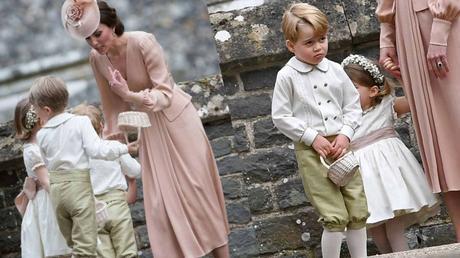 George e Charlotte principini di stile alle nozze di zia (con capricci annessi)