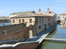 Valli Comacchio sono equilibrio terra acqua