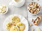Sablé allo zafferano cioccolato bianco pistacchi