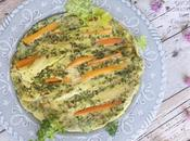 Frittata carote erbe aromatiche Bimby